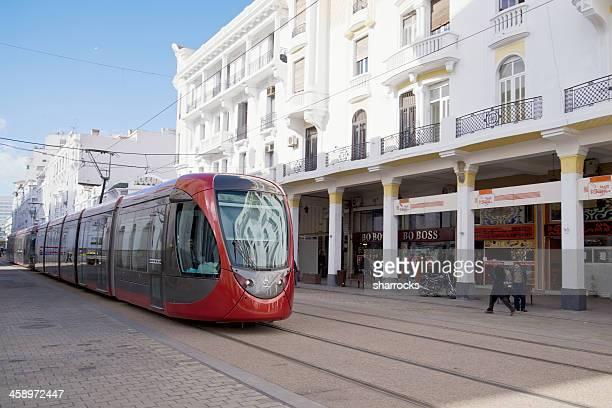 casablanca de tramway - casablanca photos et images de collection