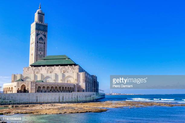 casablanca waterfront - casablanca stock pictures, royalty-free photos & images