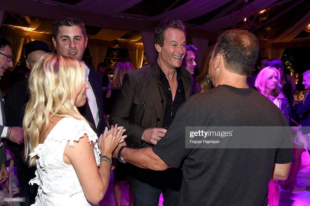 Casamigos co-founder Rande Gerber (C) attends The Heart Foundation 20th Anniversary Event honoring Discovery Land Company's Mike Meldman at the Green Acres Estate on May 21, 2016 in Beverly Hills, California.