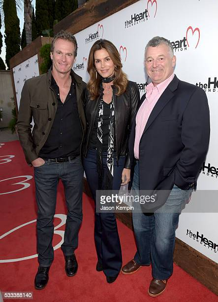 Casamigos cofounder Rande Gerber model Cindy Crawford and attend The Heart Foundation 20th Anniversary Event honoring Discovery Land Company's Mike...