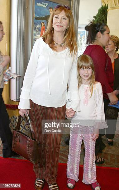 Casandra Peterson and Daughter during 'Agent Cody Banks' World Premiere at Mann Village Theater in Westwood California United States