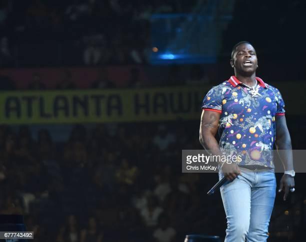 Casanova 2X performs at Philips Arena on May 2 2017 in Atlanta Georgia