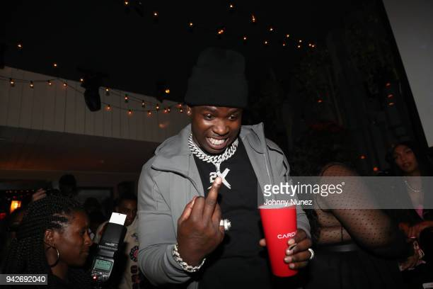 Casanova attends the Cardi B Silent Listening Party on April 5 2018 in New York City