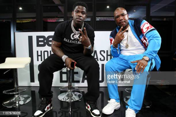 Casanova speaks at Bar stories with NORE during BET Her Presents Fashion Beauty at the BET Experience at Los Angeles Convention Center on June 22...