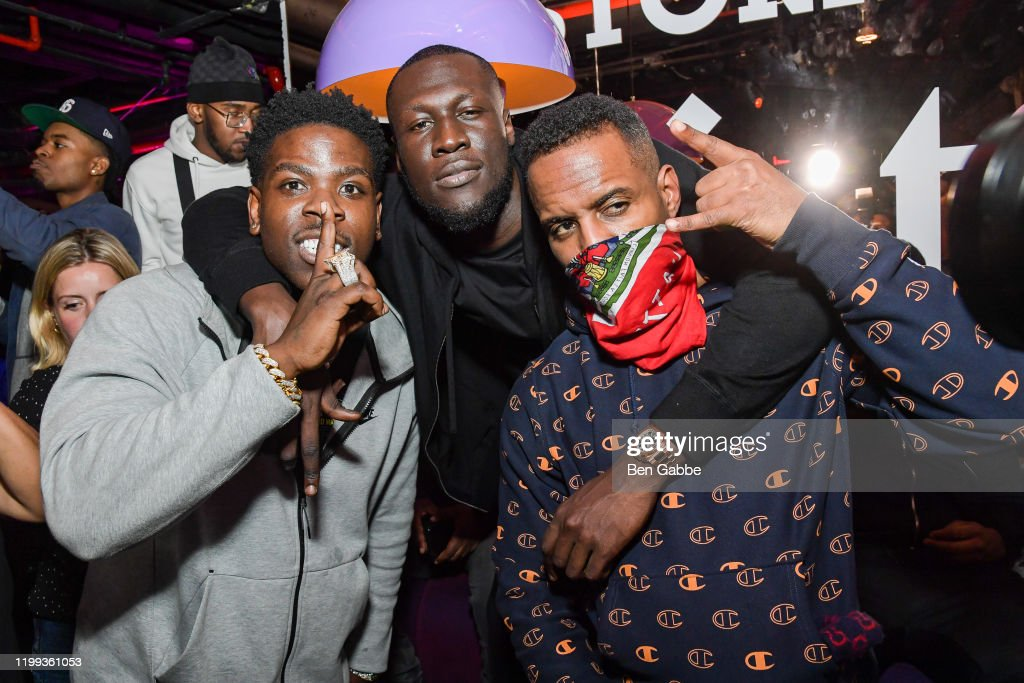 Casanova Stormzy And Dj Whoo Kid Attend The Stormzy Heavy Is The News Photo Getty Images