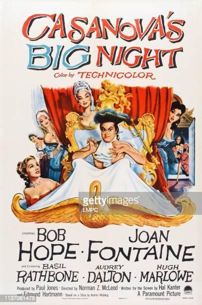 Casanova's Big Night poster poster art Joan Fontaine Bob Hope Audrey Dalton 1954