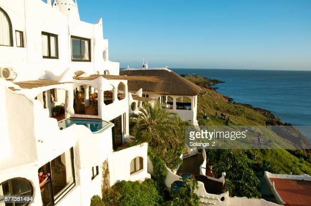 casapueblo in punta del este - east stock pictures, royalty-free photos & images