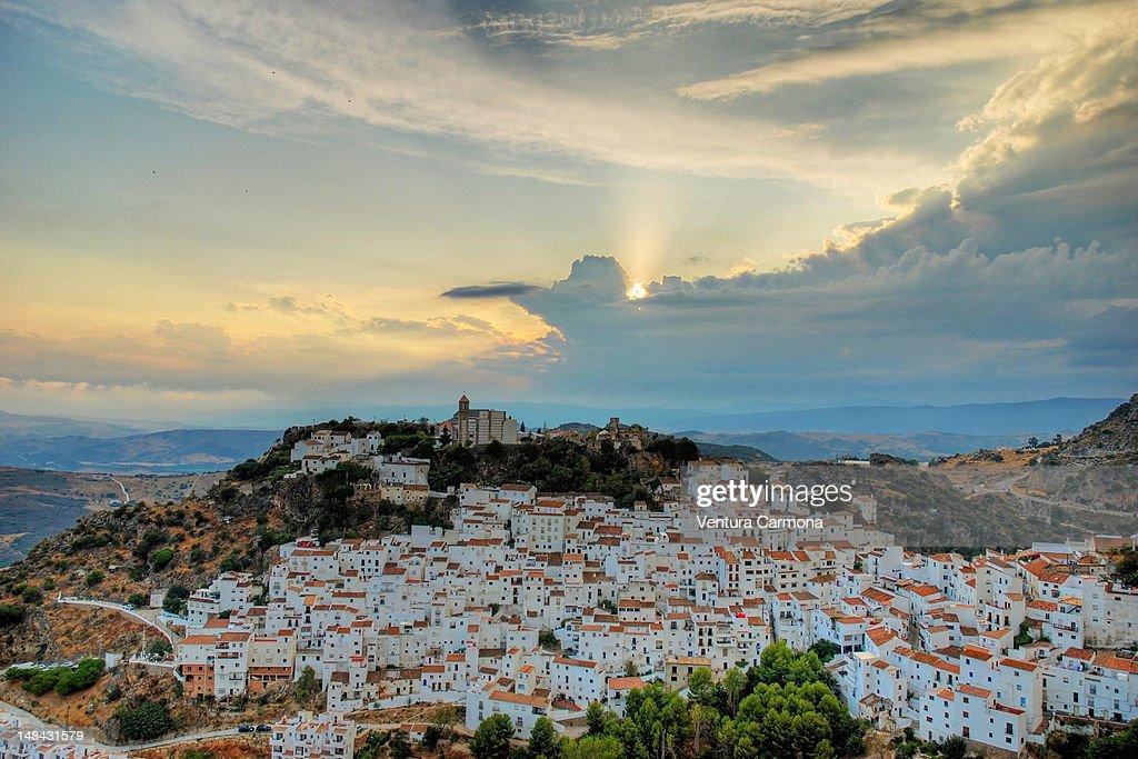 Casares Malaga : Stock Photo