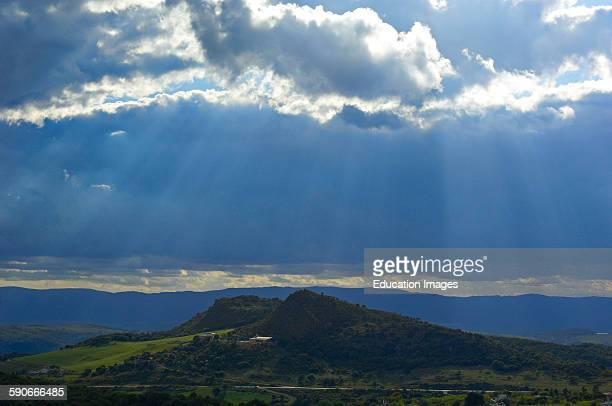 Casares, Rural Landscape, Costa del Sol, Malaga Province, Andalusia, Spain.