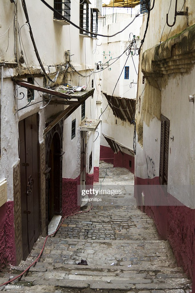 Casbah in Algiers : Stock Photo