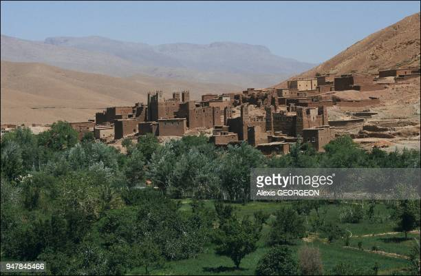 Casbah in Draa valley