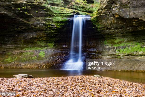 cascade falls - ken ilio stock pictures, royalty-free photos & images
