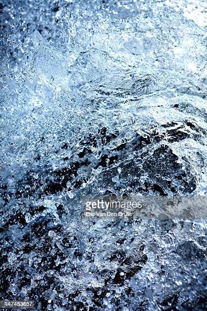 cascade of water - eric van den brulle stock-fotos und bilder