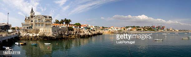 cascais bay - cascais stock photos and pictures