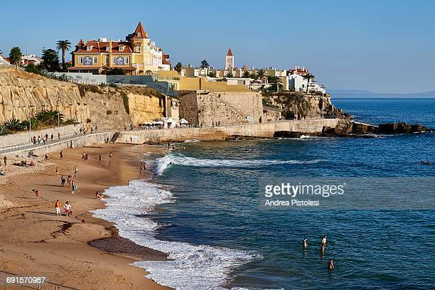 cascais, lisbon, portugal - cascais stock photos and pictures