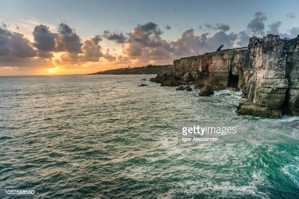 cascais, portugal - escarpment stock pictures, royalty-free photos & images