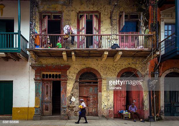 casco viejo panama city - panama stock pictures, royalty-free photos & images