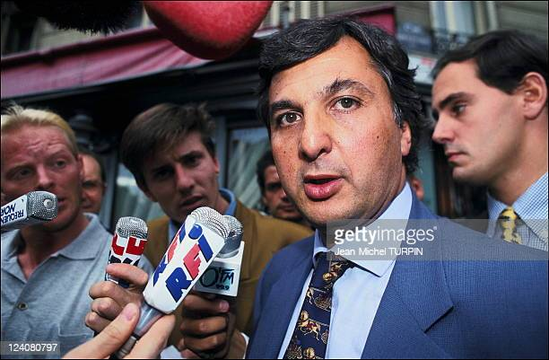Case, hearing at 'Ligue national de football' in Paris, France on September 04, 1993 - Michel Coencas.