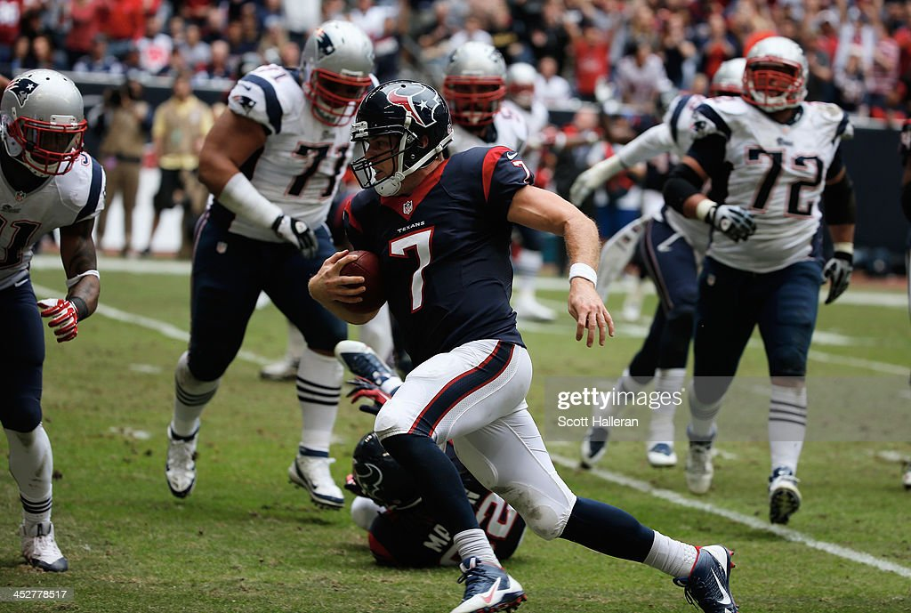 New England Patriots v Houston Texans