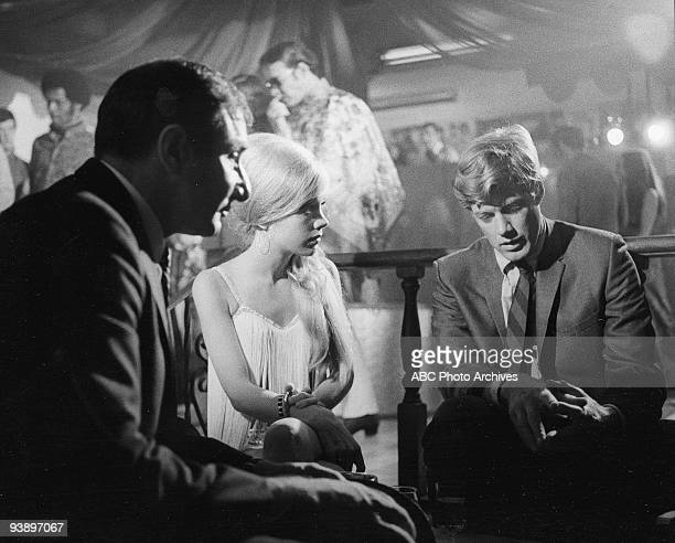 D Case of the Shady Lady 11/19/68 Ted Beniades Gretchen Corbett Frank Converse on the Walt Disney Television via Getty Images Television Network...