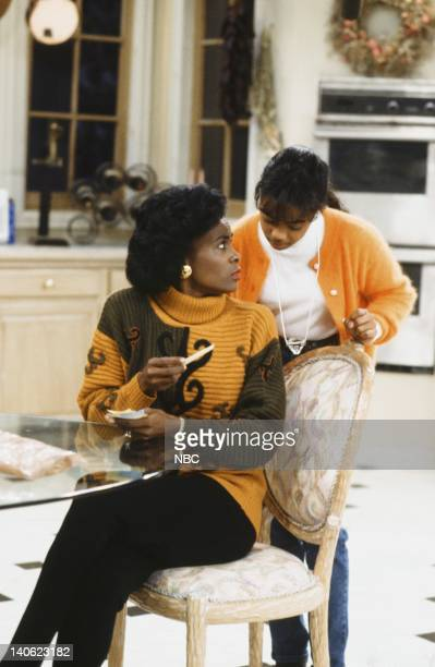 AIR Cased Up Episode 9 Pictured Janet Hubert as Vivian Banks Tatyana Ali as Ashley Banks Photo by Alice S Hall/NBCU Photo Bank