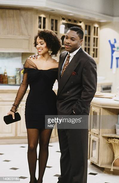 AIR Cased Up Episode 9 Pictured Karyn Parsons as Hilary Banks MalcolmJamal Warner as Eric Photo by Alice S Hall/NBCU Photo Bank