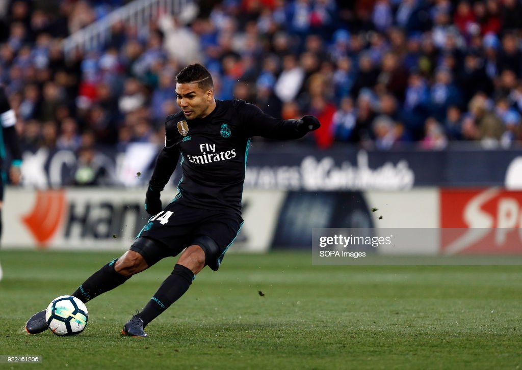 BUTARQUE, LEGANES, MADRID, SPAIN - : Casemiro (Real Madrid) during the match between Leganes vs Real Madrid at the Estadio Butarque. Final Score Leganes 1 Real Madrid 3.