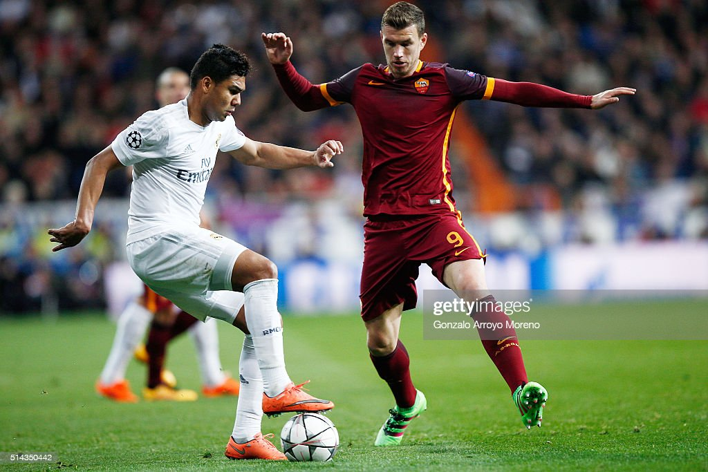 Real Madrid CF v AS Roma - UEFA Champions League Round of 16: Second Leg : News Photo