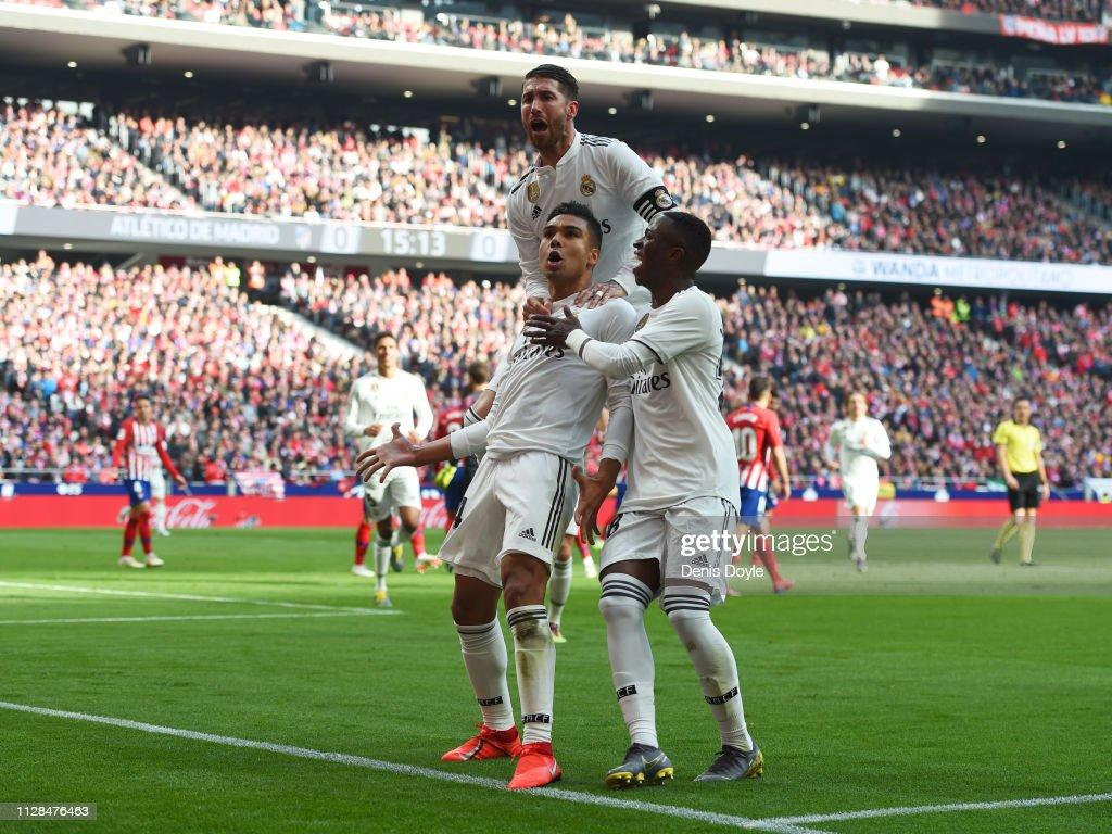 ESP: Club Atletico de Madrid v Real Madrid CF - La Liga