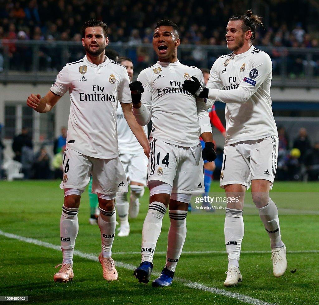 Viktoria Plzen v Real Madrid  - UEFA Champions League Group G : News Photo