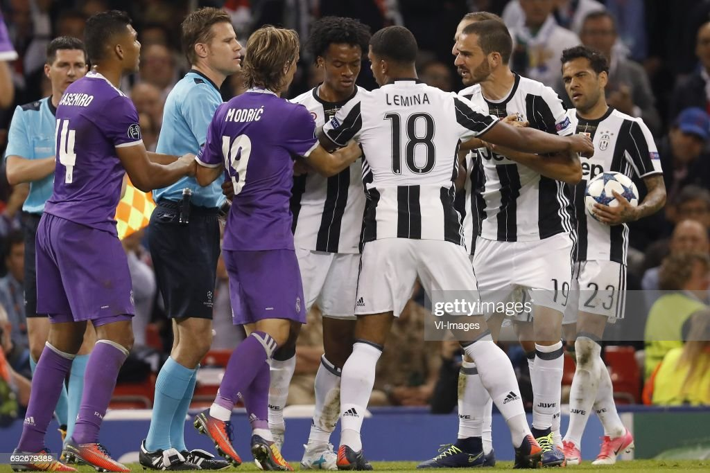 UEFA Champions League'Juventus FC v Real Madrid' : News Photo