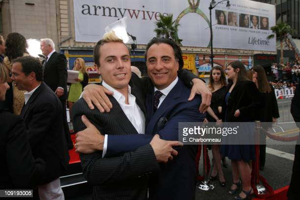 Casey Affleck and Andy Garcia during Warner Bros Pictures Village Roadshow Pictures Jerry Weintraub and Section 8 Productions Host the North American...