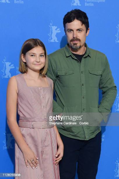 Casey Affleck and Anna Pniowsky at the Light Of My Life photocall during the 69th Berlinale International Film Festival Berlin at Grand Hyatt Hotel...