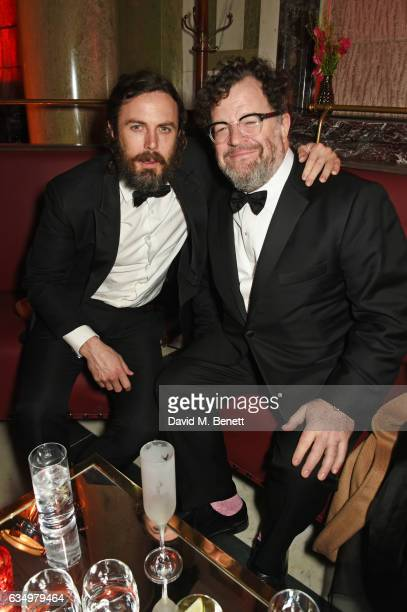 Casey Affleck and Kenneth Lonergan attend The Weinstein Company Entertainment Film Distributors Studiocanal 2017 BAFTA After Party in partnership...