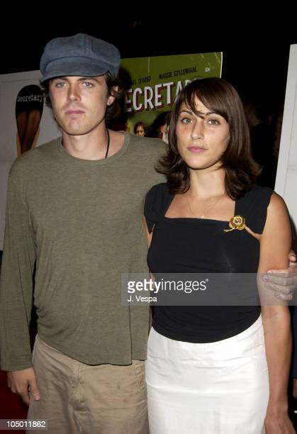 Casey Affleck and Summer Phoenix during 'Secretary' Premiere New York at Clearview Chelsea West Theater in New York City New York United States