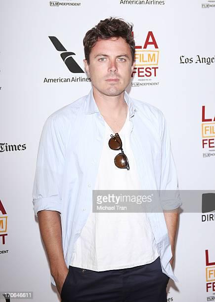 Casey Affleck arrives at the 2013 Los Angeles Film Festival 'Ain't Them Bodies Saints' premiere held at Regal Cinemas LA Live on June 15 2013 in Los...