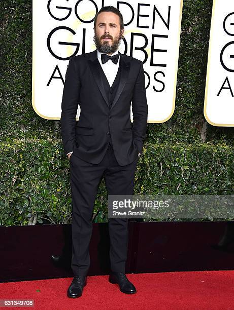 Casey Affleck arrives at the 74th Annual Golden Globe Awards at The Beverly Hilton Hotel on January 8 2017 in Beverly Hills California