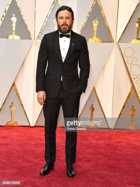 Casey Affleck arrives at the 89th Annual Academy Awards at Hollywood Highland Center on February 26 2017 in Hollywood California