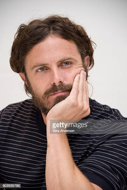 Casey Affleck at the 'Manchester by the Sea' Press Conference at the Fairmont Hotel on September 13 2016 in Toronto Canada