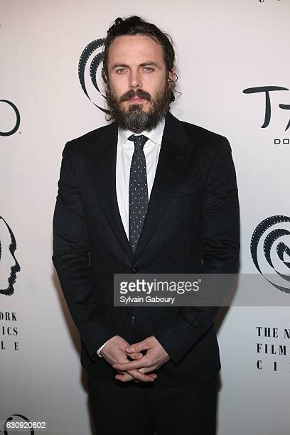Casey Affleck attends 2016 New York Film Critics Circle Awards on January 3 2017 in New York City