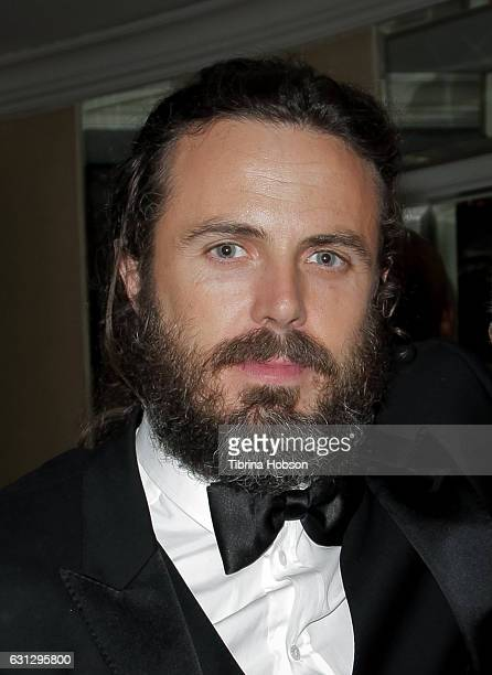 Casey Affleck attends Amazon Studios Golden Globes Party at The Beverly Hilton Hotel on January 8, 2017 in Beverly Hills, California.