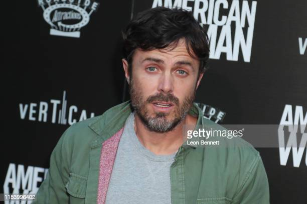 """Casey Affleck attends Premiere Of Roadside Attraction's """"American Woman"""" at ArcLight Hollywood on June 05, 2019 in Hollywood, California."""