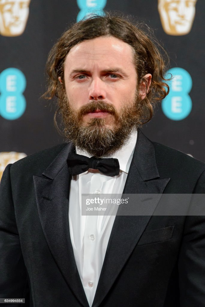 Casey Affleck attends the 70th EE British Academy Film Awards (BAFTA) at Royal Albert Hall on February 12, 2017 in London, England.