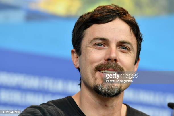 "Casey Affleck attends the ""Light Of My Life"" press conference during the 69th Berlinale International Film Festival Berlin at Grand Hyatt Hotel on..."