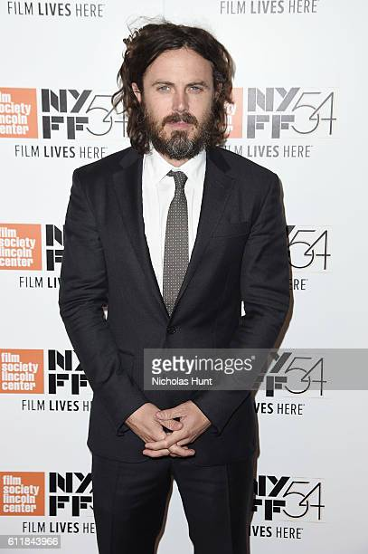 Casey Affleck attends the 'Manchester by the Sea' world premiere during the 54th New York Film Festival at Alice Tully Hall at Lincoln Center on...