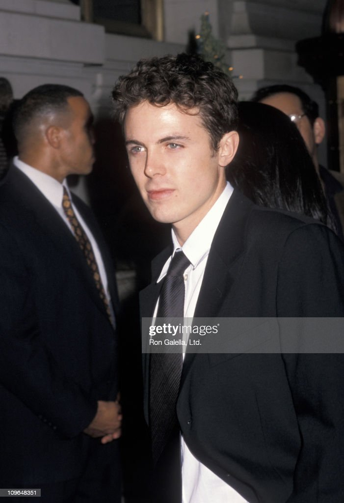 Casey Affleck during 'Shakespeare in Love' Premiere Party - December 3, 1998 at St. Regis Hotel in New York City, New York, United States.