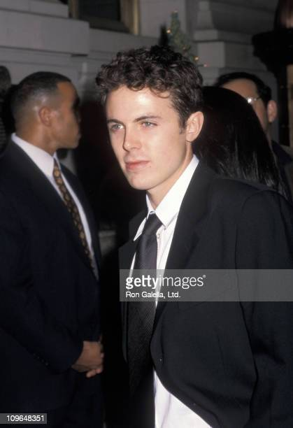 """Casey Affleck during """"Shakespeare in Love"""" Premiere Party - December 3, 1998 at St. Regis Hotel in New York City, New York, United States."""