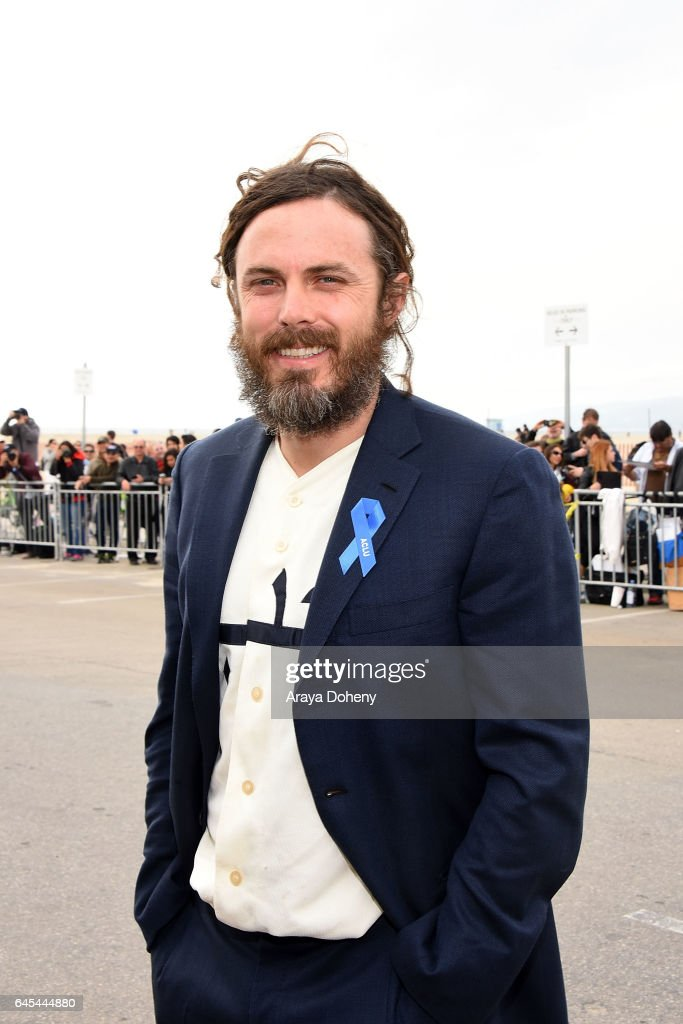 Casey Affleck during the 2017 Film Independent Spirit Awards at the Santa Monica Pier on February 25, 2017 in Santa Monica, California.