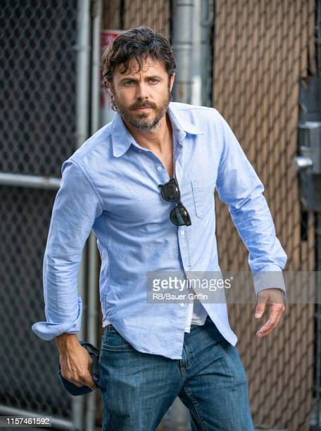Casey Affleck is seen at 'Jimmy Kimmel Live' on July 23, 2019 in Los Angeles, California.