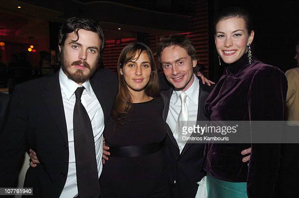 Casey Affleck Summer Phoenix Royston Langdon and Liv Tyler